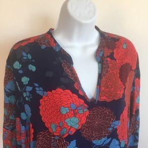 Natori Floral Dressing Gown M